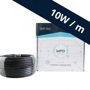 BVF WFD 10 vykurovací kábel – 10 w/m²
