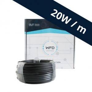 BVF WFD 20 vykurovací kábel – 20 w/m²
