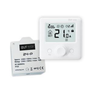 BVF HEATO 9 WiFi Ready izbový termostat + 3m podlahový senzor